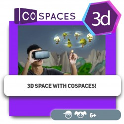 3D space with CoSpaces! - Programming for children in Orlando