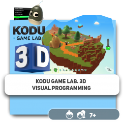 Kodu Game Lab. 3D Visual programming - Programming for children in Orlando