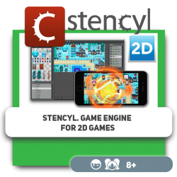 Stencyl. Game engine for 2D games - Programming for children in Orlando