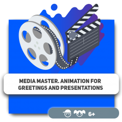 Media Master. Animation for greetings and presentations - Programming for children in Orlando