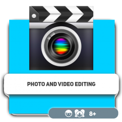 Photo and video editing - Programming for children in Orlando