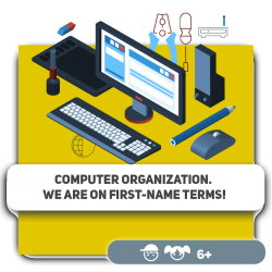 Computer organization. We are on first-name terms! - Programming for children in Orlando