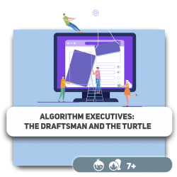 Algorithm executives: the draftsman and the turtle - Programming for children in Orlando