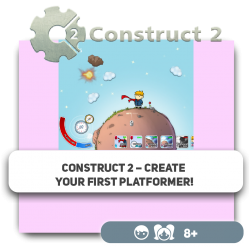 Construct 2 – Create your first platformer! - Programming for children in Orlando