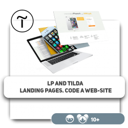 LP and Tilda landing pages. Code a web-site - Programming for children in Orlando