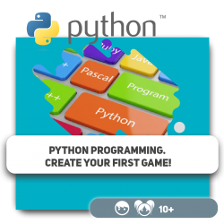 Python programming. Create your first game! - Programming for children in Orlando