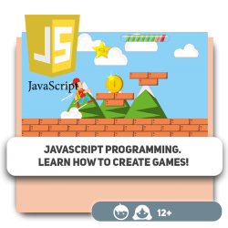 JavaScript programming. Learn how to create games! - Programming for children in Orlando