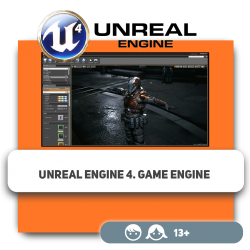 Unreal Engine 4. Game engine - Programming for children in Orlando