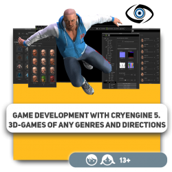 Game development with CryEngine 5. 3D-games of any genres and directions - Programming for children in Orlando