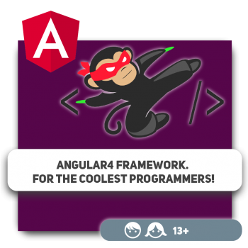 Angular4 Framework. For the coolest programmers! - Programming for children in Orlando